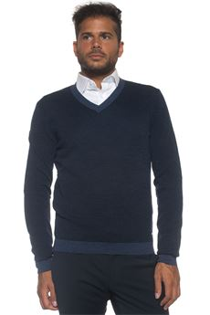 Pullover collo a V BOSS by HUGO BOSS | 7 | BABINO-50322142431