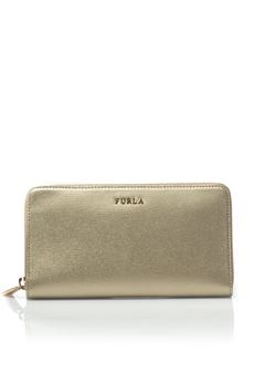 Babylon purse with zip in leather Furla | 63 | BABYLON-PN08 SFMCGD