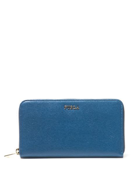 Rectangular purse with zip in leather Furla | 63 | BABYLON-PN08-B30COBALTO