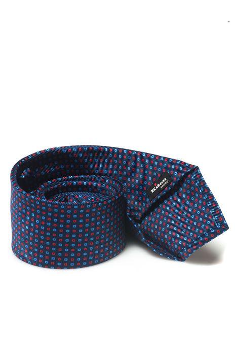 Cravatta Kiton | 20000054 | KP 8,5-8D2503