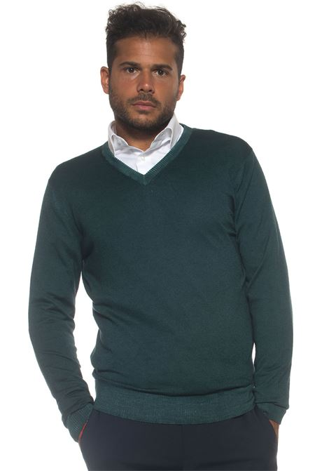 Pullover collo a V Kiton | 7 | UK23AI16308F