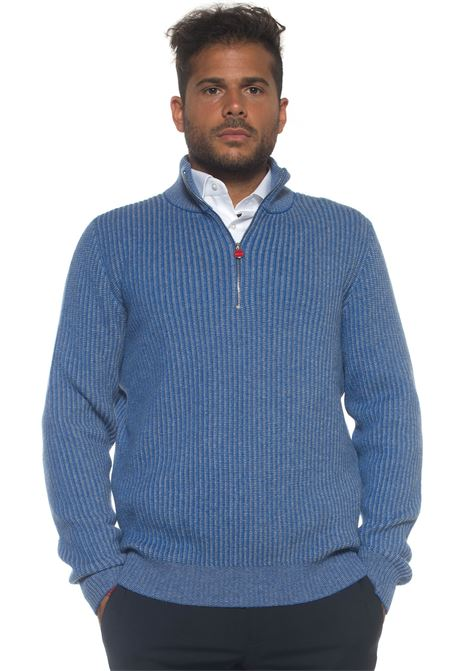 Pullover mezza zip Kiton | 7 | UK791AI16V225