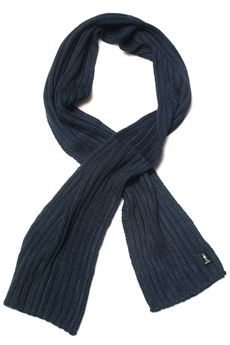 Sciarpa a coste larghe Refrigue | 77 | SCARF-R85321NAR2UNIGHT BLU