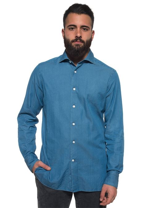 Casual shirt Ermenegildo Zegna | 6 | 9MS0BL-801670DENIM MEDIO