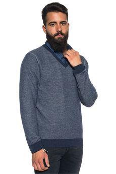 V-neck pullover Andrea Fenzi | 7 | V01-B720634939