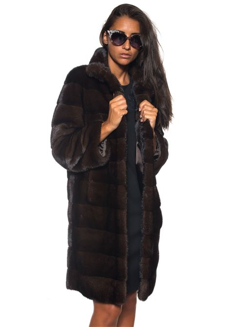 Long mink fur Antonella Ponzi | 20000061 | VIS016A135MARRONE