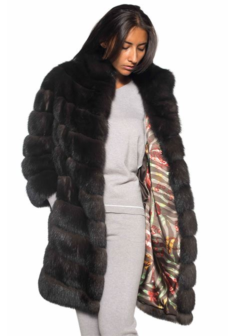 Sable fur Antonella Ponzi | 20000061 | ZIB015A145MARRONE