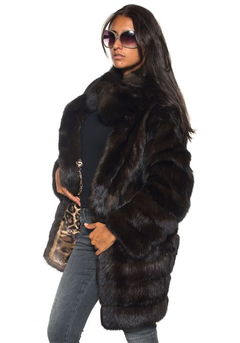 Sable fur Antonella Ponzi | 20000061 | ZIB019A142MARRONE