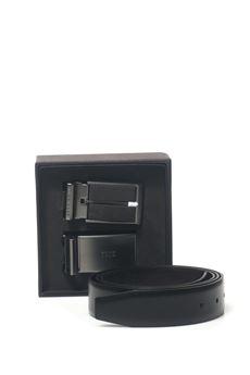 Set cintura con doppia fibbia BOSS by HUGO BOSS   20000041   GEORG GB35-50375329002