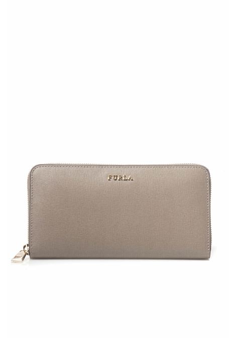 Babylon zip leather wallet Furla | 63 | BABYLON-PR82-B30SABBIA