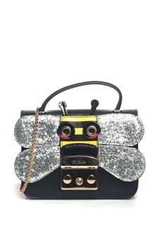 Small-size leather bag Furla | 31 | METROPOLIS DOODLE-BLR6-4TAONYX/SILVER