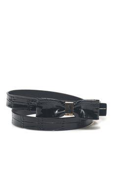 Skinny patent belt Guess | 20000041 | BW6704-VIN20BLA