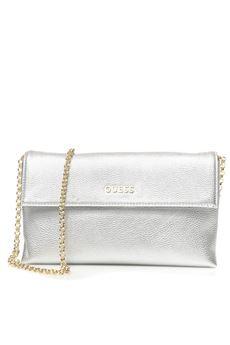 Small shoulder strap bag, Guess | 31 | HWTULI-P7226SIL