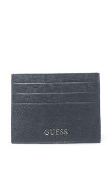 Credit card holder Guess | 67 | SM2311-LEA25BLU