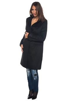 Coat with concealed button placket Guess | 17 | W74L53-W94C0A996
