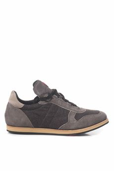 Sneaker in leather Kiton | 5032317 | USSNPNTN0028402004