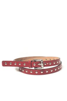 Cintura sottile in pelle Red Valentino | 20000041 | NQ2T0189-DCB017