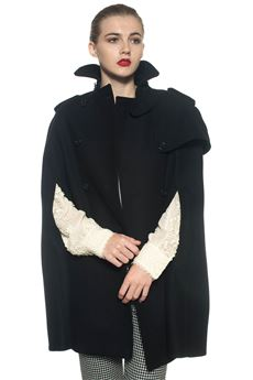 Double-breasted cape Red Valentino | 52 | NR3CG035-0ET0NO