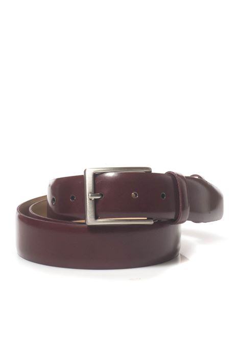 Leather belt Angelo Nardelli | 20000041 | 83420-G800860