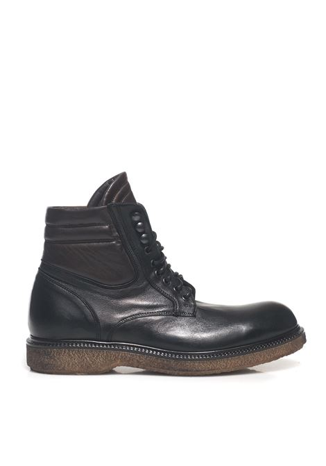 Lace-up boot Angelo Pallotta | 75 | 0575NERO