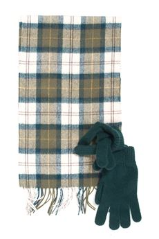 Gloves and scarf set Barbour | 5032240 | BAACC1131-MAC0042TN51