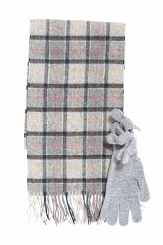 Gloves and scarf set Barbour | 5032240 | BAACC1131-MAC0042TN71