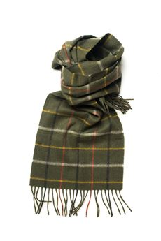 Ba Country Tattersal Scarf Barbour | 77 | BAACC1591-LSC0134OL55