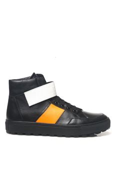 Sneakers alta Bikkembergs | 5032317 | BKE108926BLACK/ORANGE