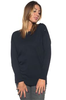 Wool jumper Blue Les Copains | 7 | 0J10112188