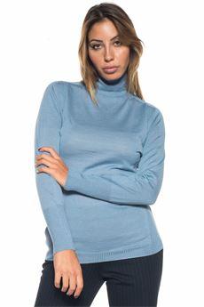 Wool jumper Blue Les Copains | 7 | 0J10510818