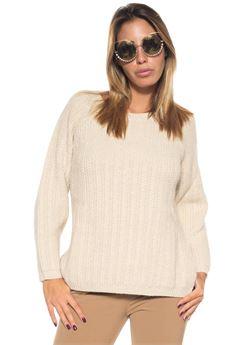 Wool jumper Blue Les Copains | 7 | 0J11312234