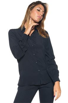 Camicia classica da donna Blue Les Copains | 6 | 0J20000188