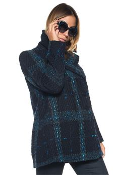 Cappotto in lana Blue Les Copains | 20000057 | 0J80353188