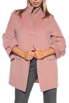 Cloth coat Blue Les Copains | 20000057 | 0J80450585