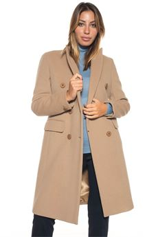Cappotto in lana Blue Les Copains | 17 | 0J80600223