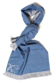 Classic scarf Canali | 77 | 06-MF00082450