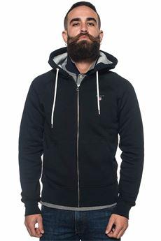 Felpa zip con cappuccio Gant | 20000055 | 2761235
