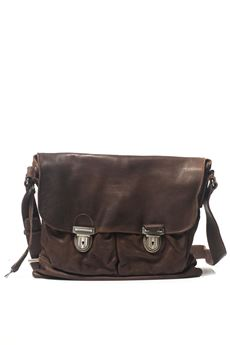 Leather satchel MINORONZONI 1953 | 20000006 | MRF171B100C60