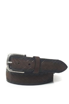 Leather belt MINORONZONI 1953 | 20000041 | MRF173C019C60