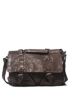 Big bag in leather MINORONZONI 1953 | 20000006 | MRF172B103C60