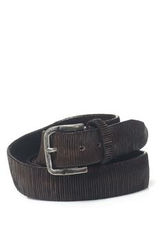 Leather belt MINORONZONI 1953 | 20000041 | MRF172C009C60