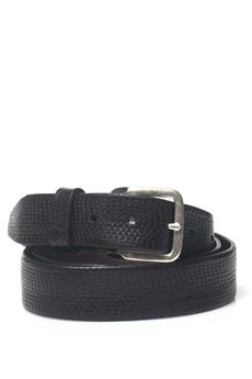 Leather belt MINORONZONI 1953 | 20000041 | MRF172C012C60