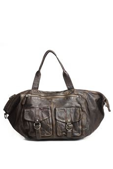 Leather bag MINORONZONI 1953 | 20000006 | MRF174B106C60