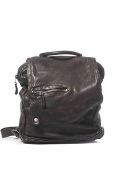 Leather rucksack MINORONZONI 1953 | 5032307 | MRF174B108C60