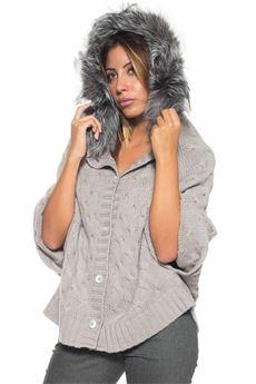Knit cape Panicale | 20000022 | D21264-CA910