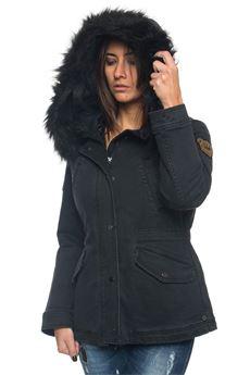 Denim harrington jacket Pennyblack | -276790253 | ANGELICA-360002