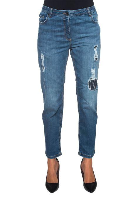 Jeans 5 tasche con rotture Pennyblack | 24 | LADINO-301001