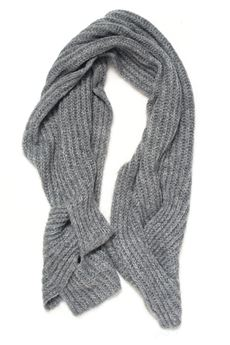 Large ribbed scarf Pennyblack | 77 | TANDEM-549002