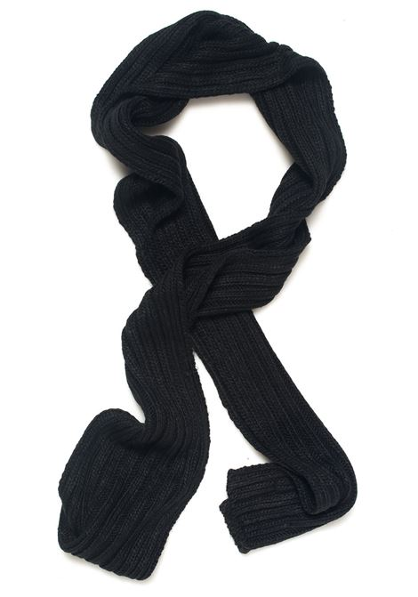 Sciarpa a coste larghe Refrigue | 77 | SCARF-R85007NAS2UBLACK