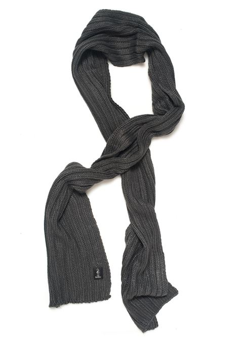 Sciarpa a coste larghe Refrigue | 77 | SCARF-R85007NAS2UCHARCOAL